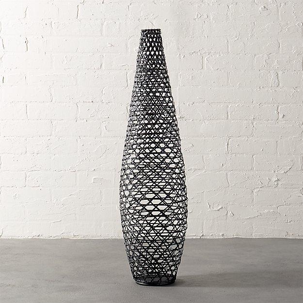 basketweave vase