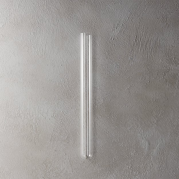 "beaker glass tube 16"" wall vase"