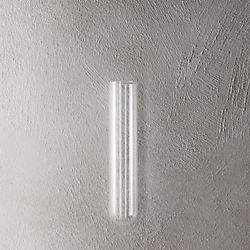 "beaker glass tube 8"" wall vase"