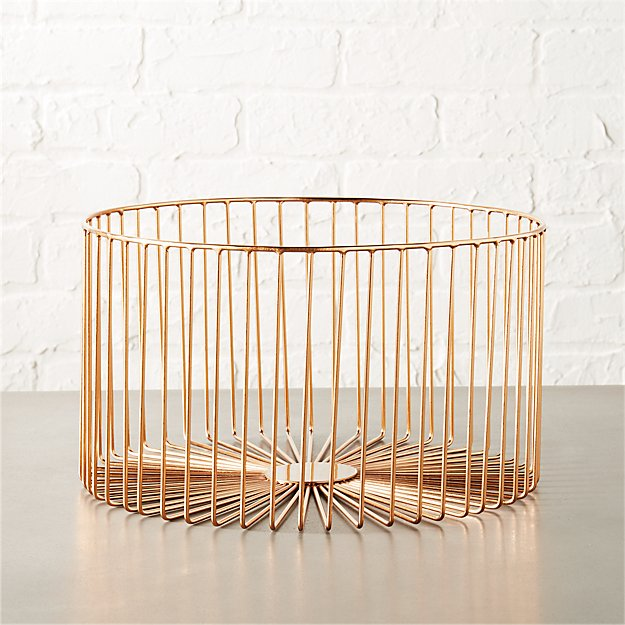 beam medium copper basket