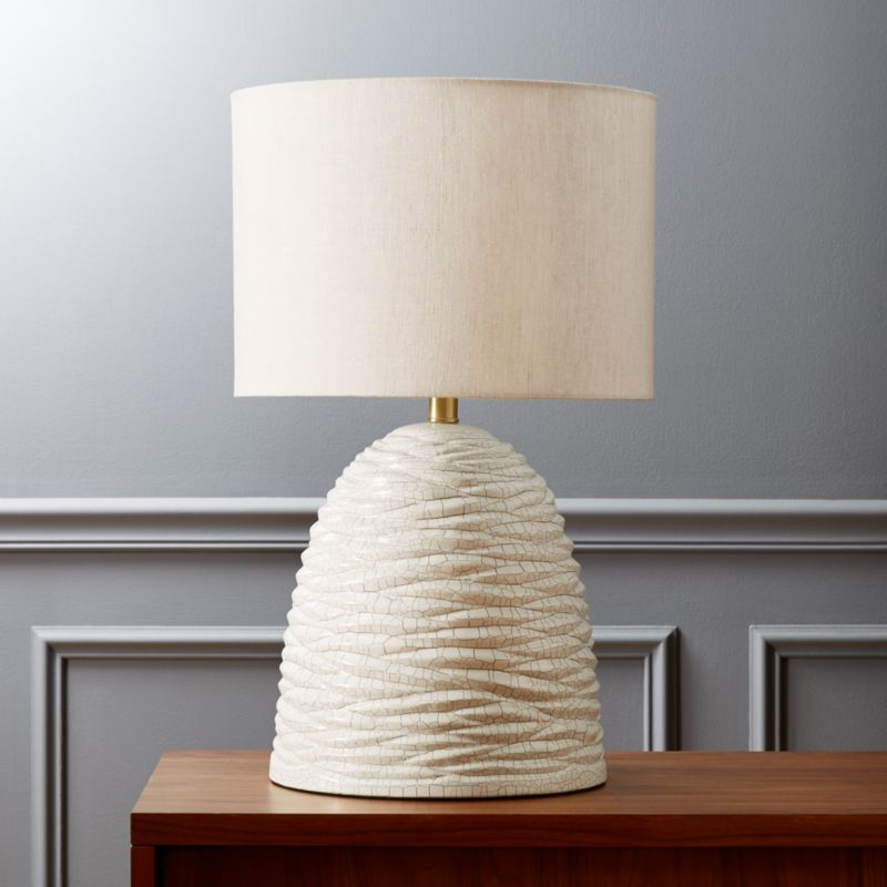 Pin It beehive table lamp  Modern Table Lamps for Living Rooms and Bedrooms  CB2Modern Bedroom Table Lamps   PierPointSprings com. Contemporary Table Lamps For Living Room. Home Design Ideas