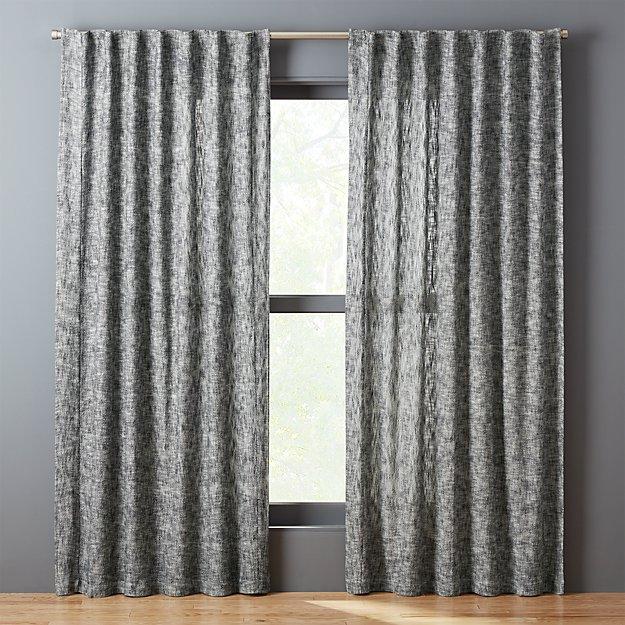 Bensyn Tweed Curtain Panel Cb2