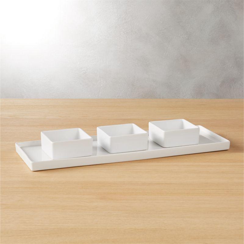 4-piece bento serving set
