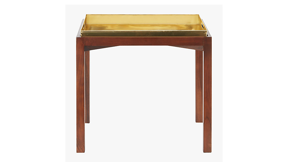 bento side table with tray