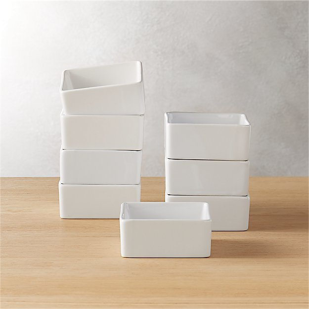 set of 8 bento mini bowls