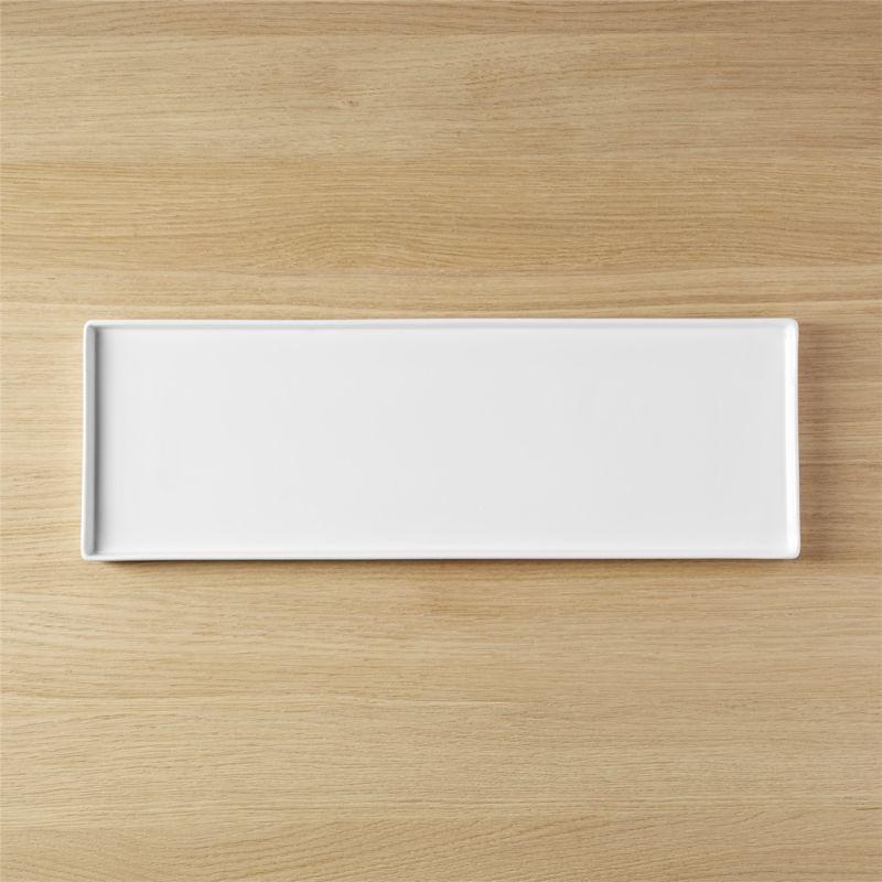 bento rectangular platter