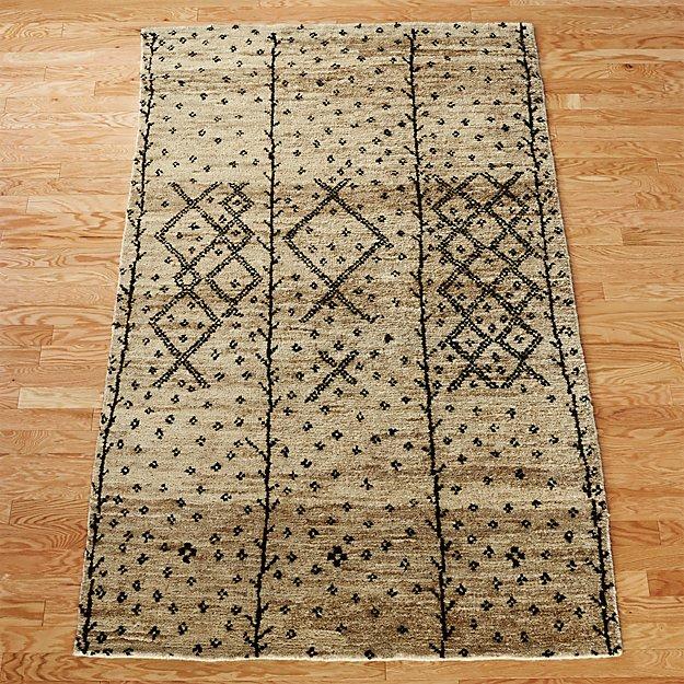 berber-rug-8x10 by crate&barrel