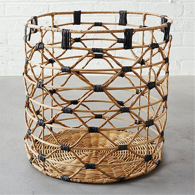 beso large natural basket
