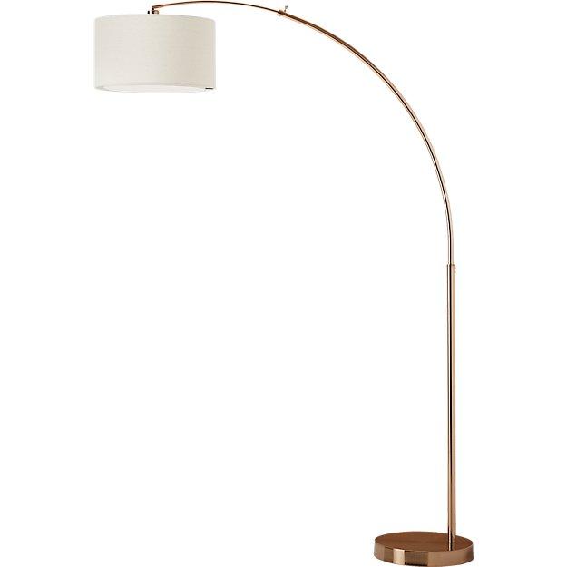 Big Dipper Arc Brass Floor Lamp Reviews Cb2