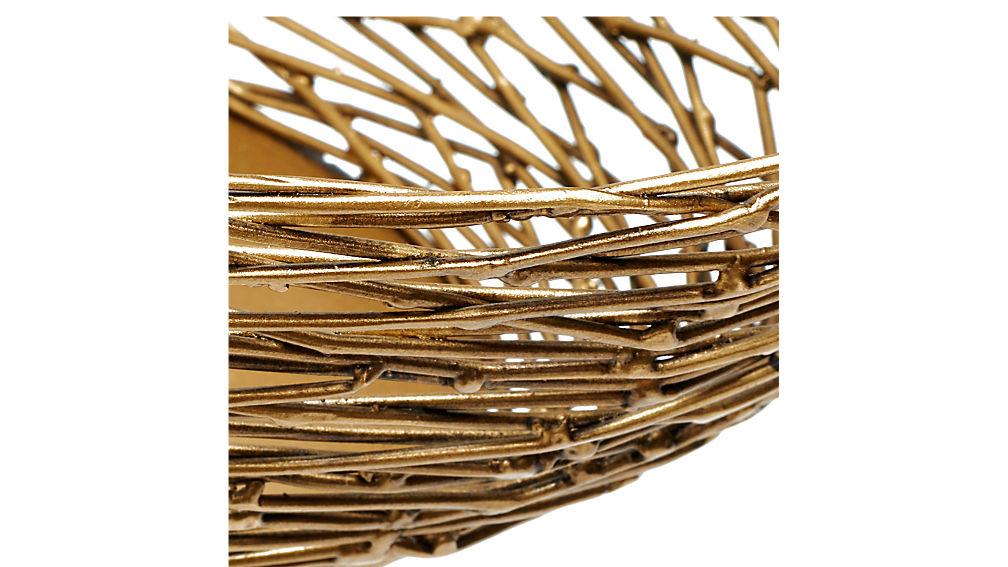 bird basket side table