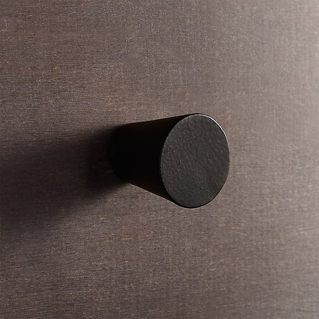 taper black knob