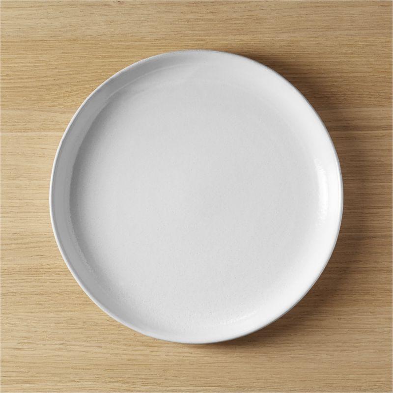 & black clay dinner plate in dinnerware + Reviews   CB2