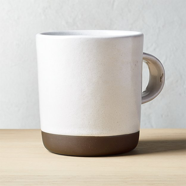 Black Clay Large Mug
