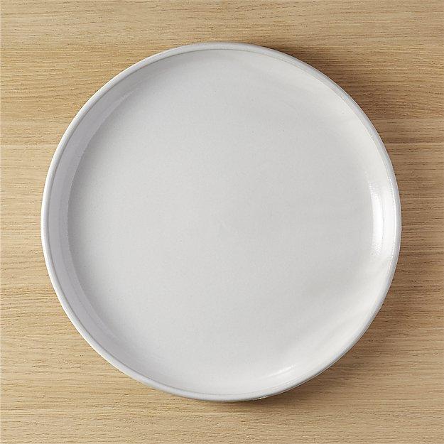 black clay round platter