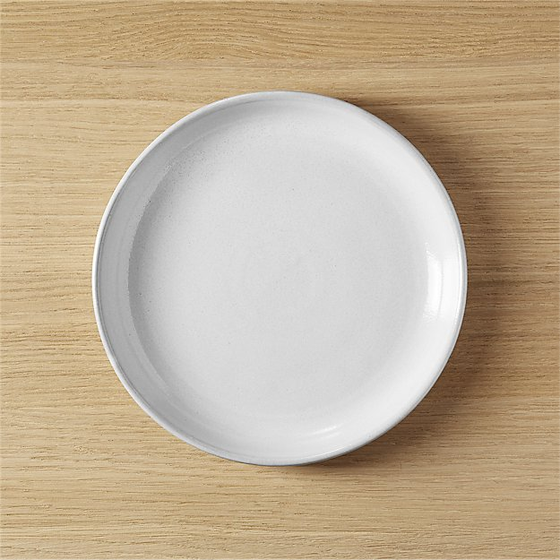 Black Clay Salad Plate CB2