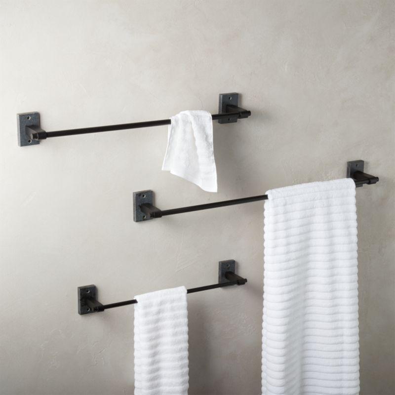 granite towel bars
