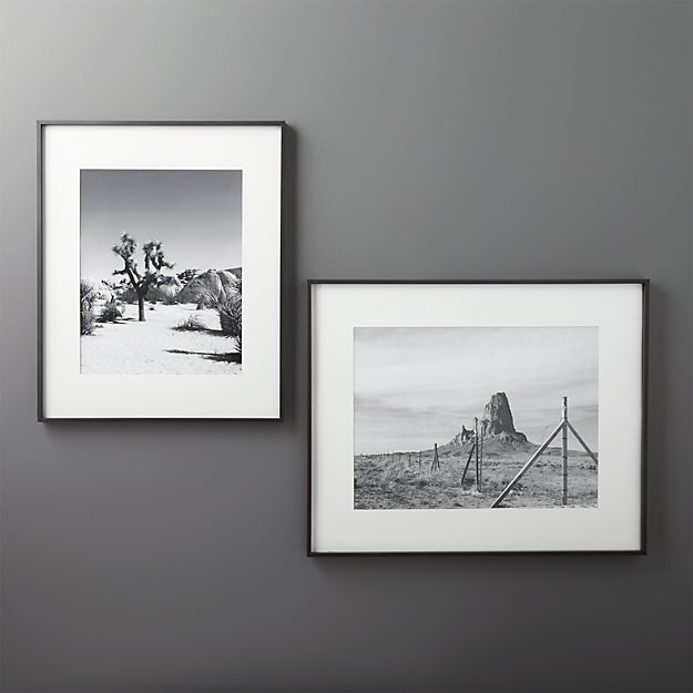 Black Picture Frames With White Matting Gallery Black