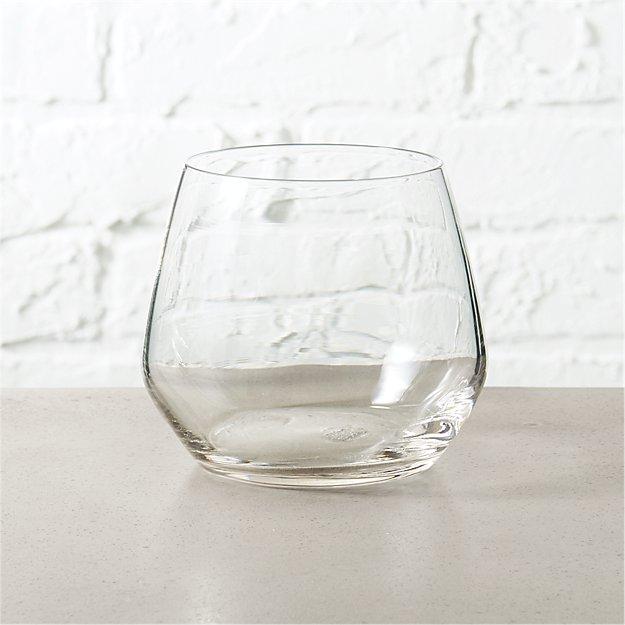 blend stemless wine glass