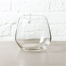 blend stemless wine glass