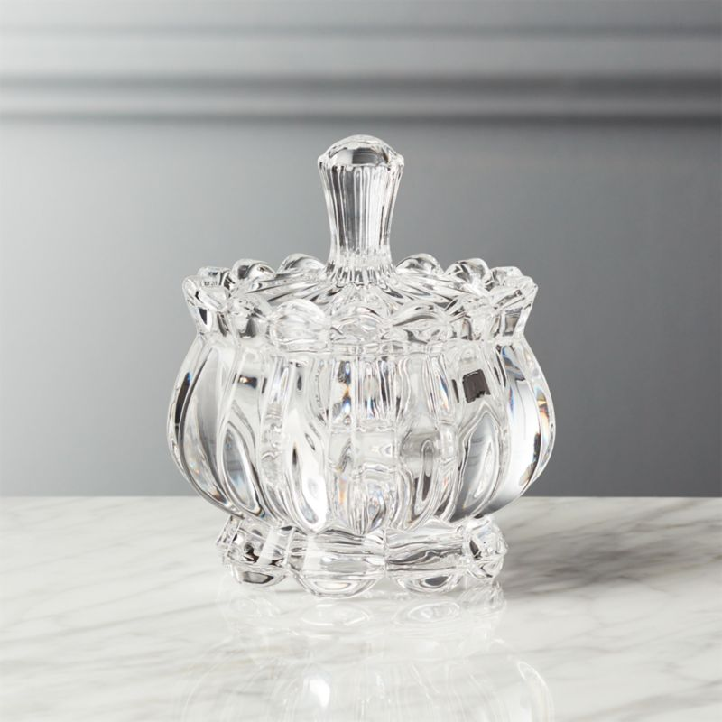 Bloom glass sugar bowl with lid reviews cb