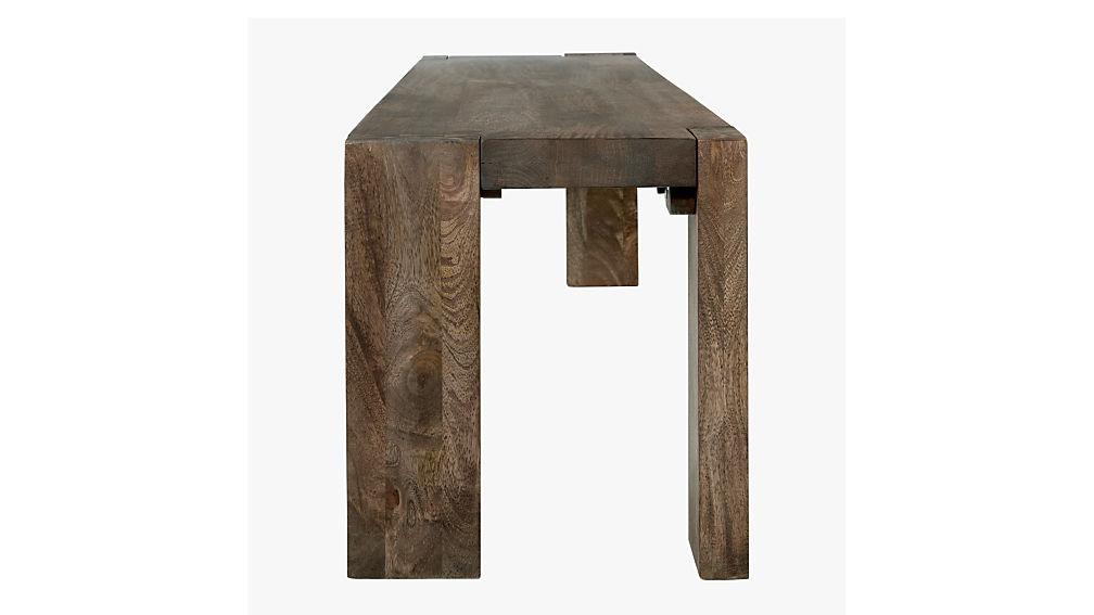 blox 78quot mango wood dining bench CB2 : BloxBench78inSDF16 from www.cb2.com size 1008 x 567 jpeg 45kB