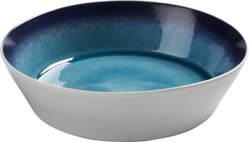 blue line soup bowl