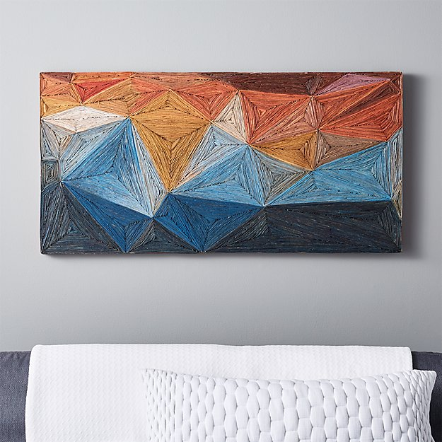 bondi mosaic wall decor   CB2