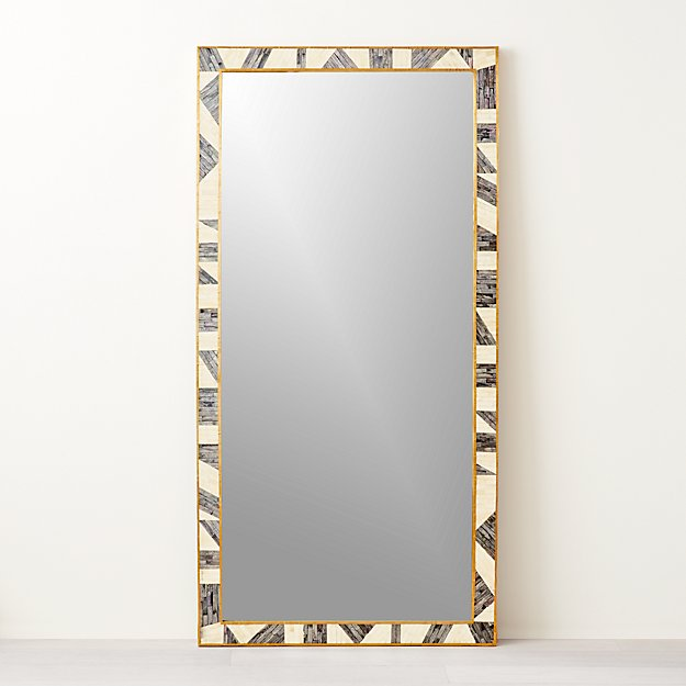 Grace Bone Inlay Mirror 36 Quot X72 Quot Cb2