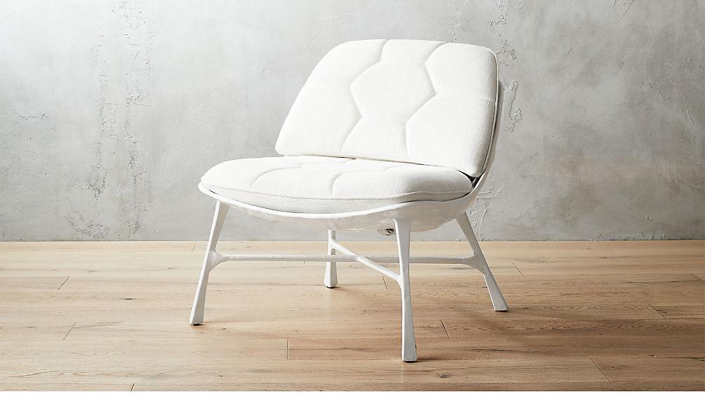 Bordeaux White Chair Reviews Cb2