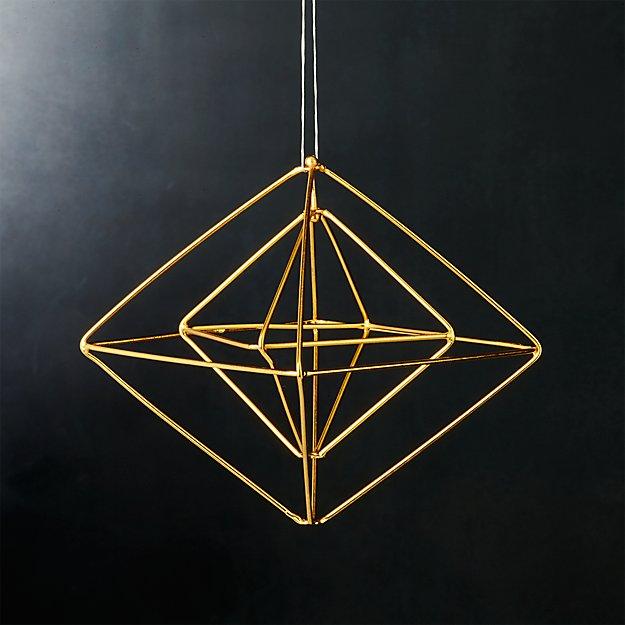boxes gold ornament