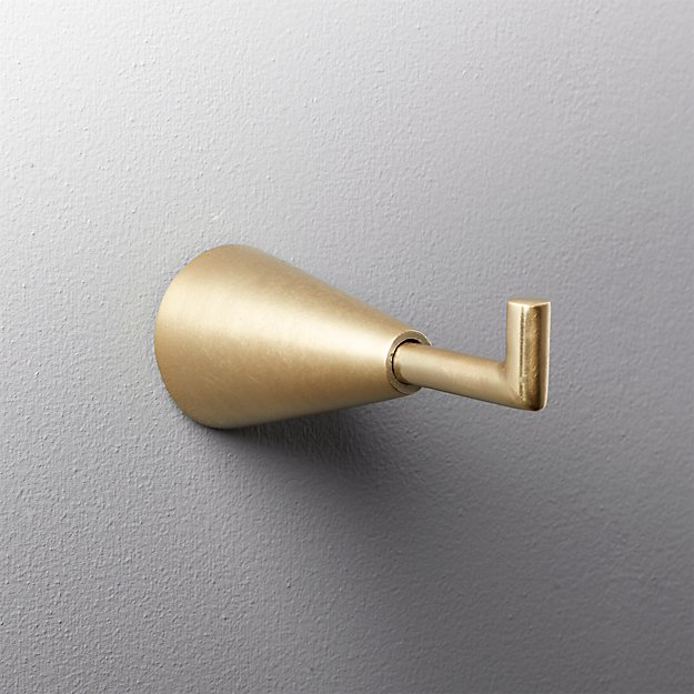 brass towel hook