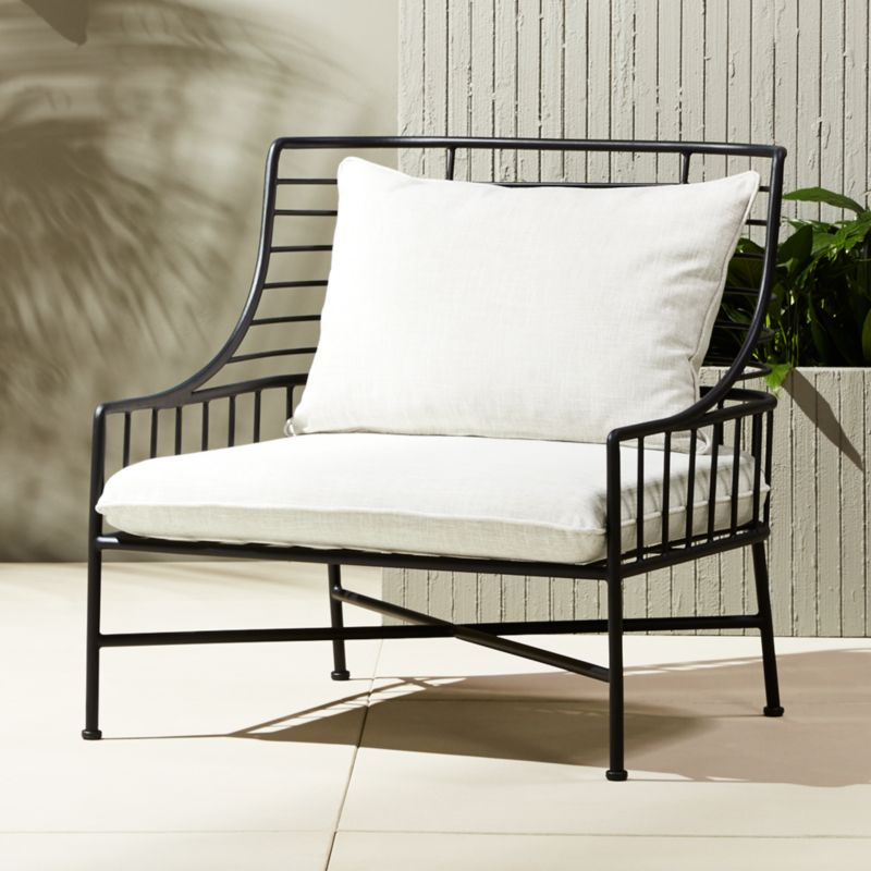 Metal outdoor sofa modern metal outdoor sofas allmodern for Modern patio chairs