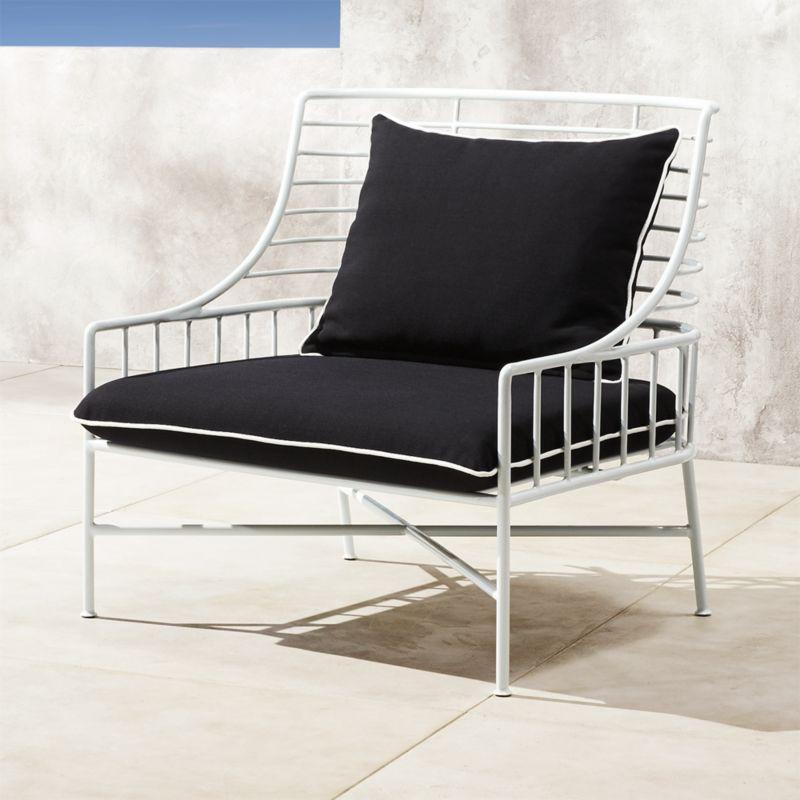White Lacquer Furniture Cb2