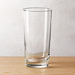brisk tall cooler glass