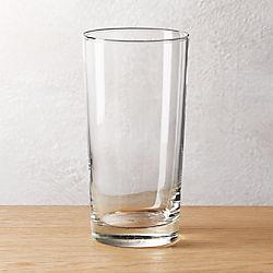 brisk tall cooler glass