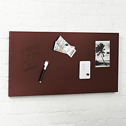 Magnetic Bronze Metal Dry Erase Board