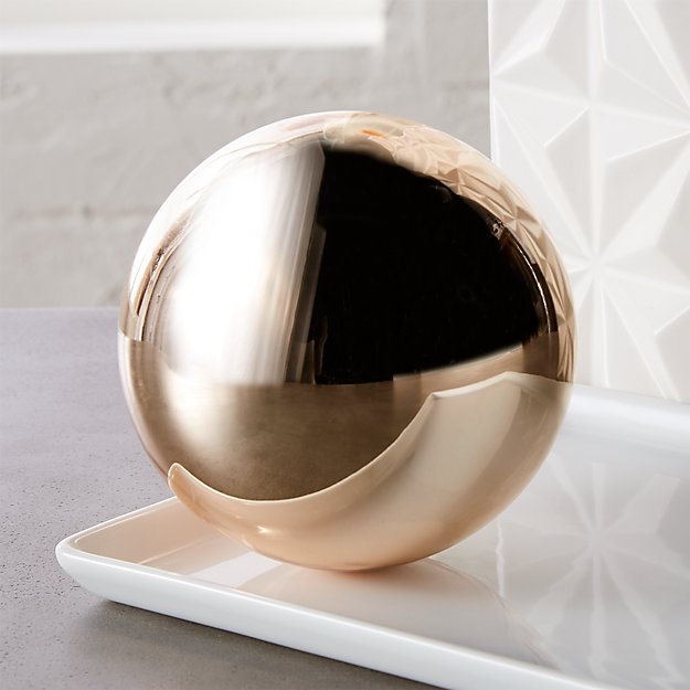 bubble sphere copper