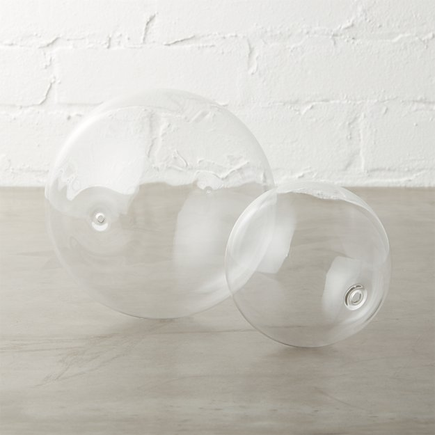 bubble spheres clear