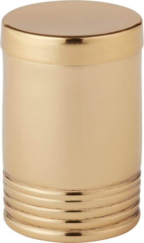 Online Designer Dining Room Bulletproof Gold Spice Jar