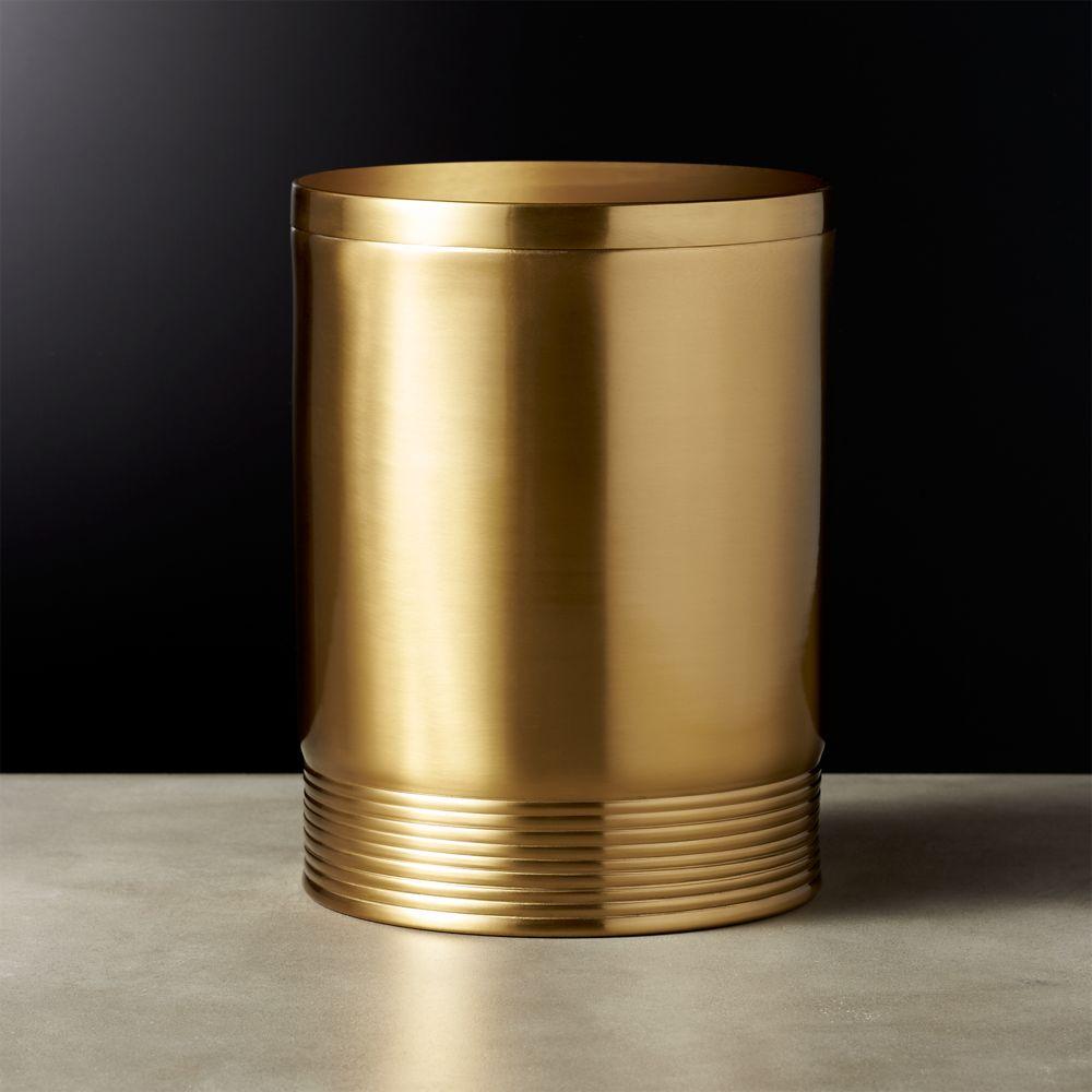 Online Designer Dining Room Bulletproof Large Gold Canister