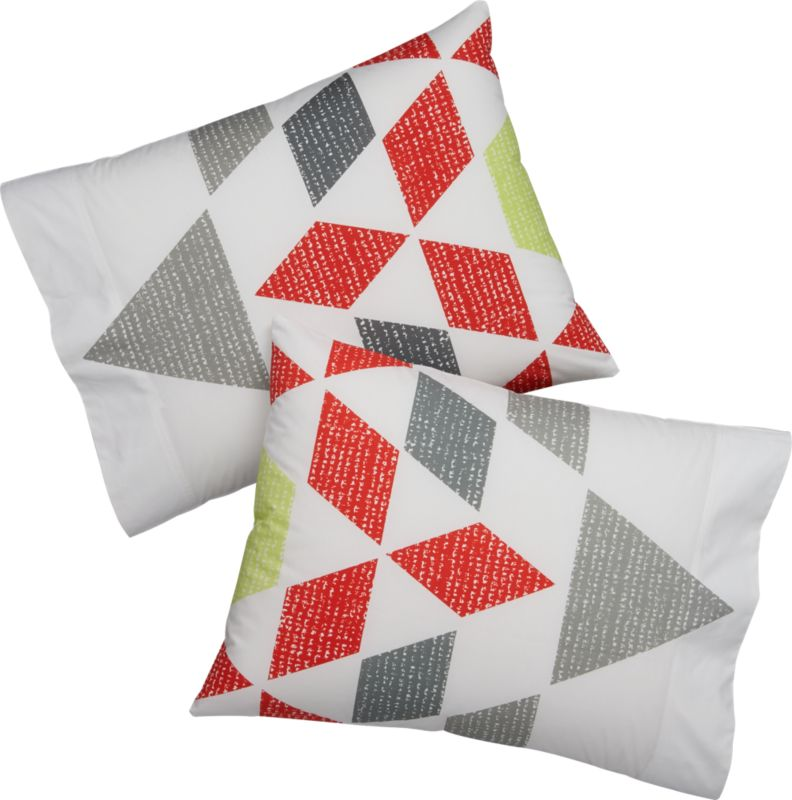 set of 2 burst shams
