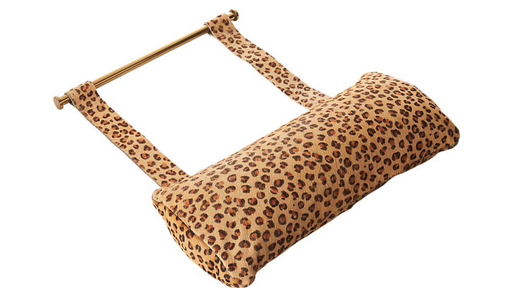 Cheetah Hide Butterfly Chair Headrest