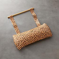 Cheetah Print Hide Butterfly Chair Headrest