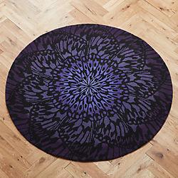 butterfly wheel rug 6'