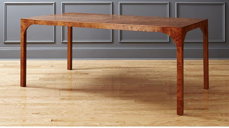 Burl Wood Furniture Cb2 Idea Central