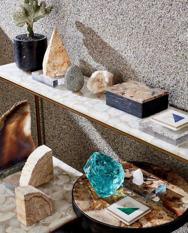Geode Home Decor: Agate, Crystal & Stone Ideas