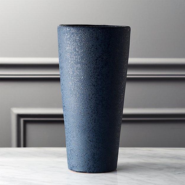 Cadet Navy Blue Vase