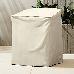 Camilla White Outdoor Dining Chair Cb2