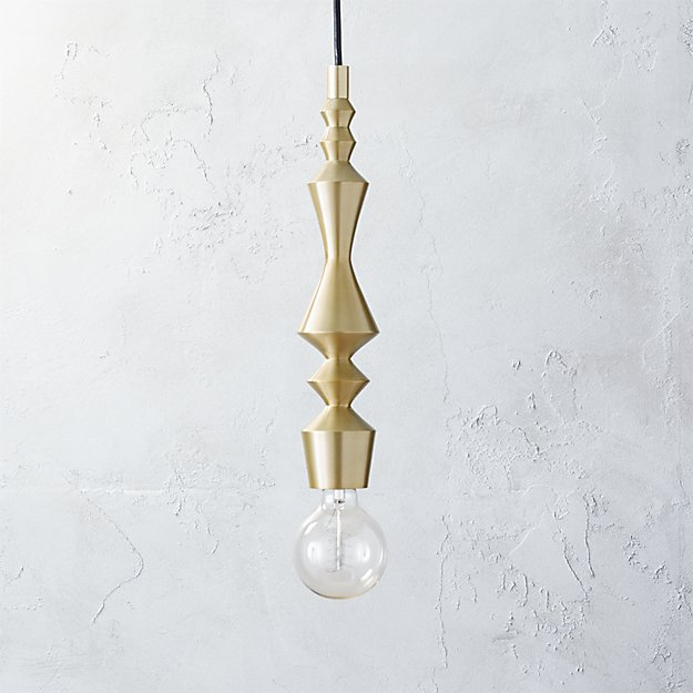 Candlestick pendant light reviews cb2