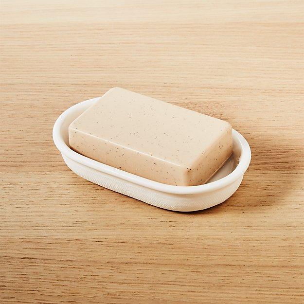 canvas soap dish